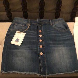 Blue Jean skirt!